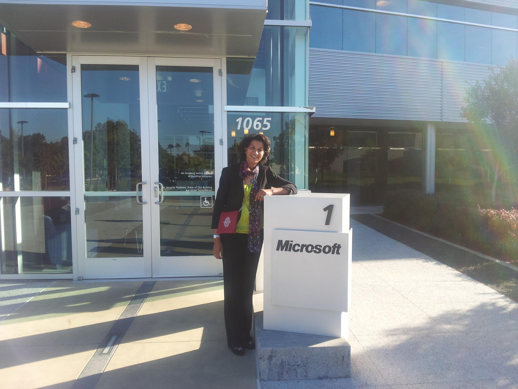 First day at Microsoft